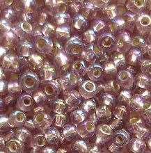 Toho 8/0 Seed Beads Silver Lined Rainbow Amethyst 2026 - 10 grams